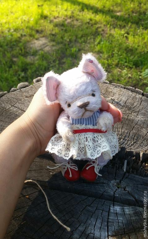 Мишки Тедди ручной работы. Ярмарка Мастеров - ручная работа. Купить Буля. Handmade. Бледно-розовый, друзья тедди