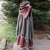 Одежда ручной работы. Ярмарка Мастеров - ручная работа №193 Бохо сарафан+юбка+шарф. Handmade.