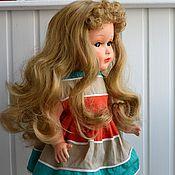 Куклы и игрушки ручной работы. Ярмарка Мастеров - ручная работа Парик для антикварной или коллекционной куклы. Handmade.