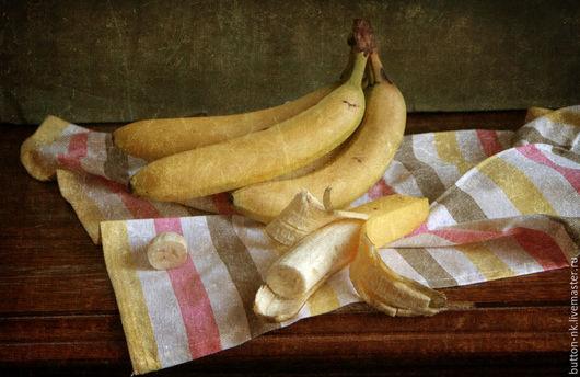 Фотокартины ручной работы. Ярмарка Мастеров - ручная работа. Купить Натюрморт фото, картина Банановый. Handmade. Желтый, бананы