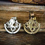 Украшения handmade. Livemaster - original item Pendant Amestris. Steel Alchemist. Fullmetal Alchemist. brass silver.. Handmade.