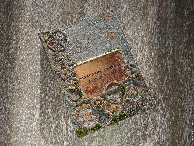 Cookbook for recipes Old steampunk, Recipe books, Tyumen,  Фото №1