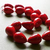 Колье ручной работы. Ярмарка Мастеров - ручная работа Бусы: Красный коралл. Handmade.