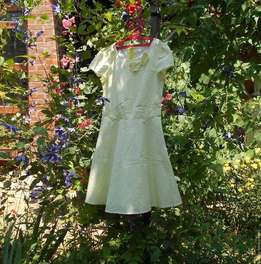 Одежда. Ярмарка Мастеров - ручная работа. Купить Детские платьица. 4 разных.. Handmade. Комбинированный, платье на каждый день