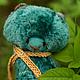 Мишки Тедди ручной работы. Ярмарка Мастеров - ручная работа. Купить утро. Handmade. Морская волна, опилки древесные