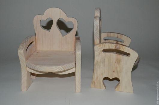 Куклы Тильды ручной работы. Ярмарка Мастеров - ручная работа. Купить Кресло для Тильды. Handmade. Бежевый, кукольная мебель