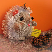 Куклы и игрушки handmade. Livemaster - original item Knitted small Hedgehog toy. Handmade.