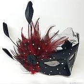 Маски ручной работы. Ярмарка Мастеров - ручная работа Маски: Карнавальная маска. Handmade.