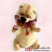 Куклы и игрушки handmade. Livemaster - original item Bear has a sweet tooth. Handmade.