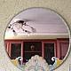 Зеркала ручной работы. Нежность. Оксана. Интернет-магазин Ярмарка Мастеров. Салатовый, кружево, бусины, Нежное, винтажный стиль, бусины