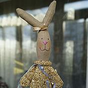 Куклы и игрушки ручной работы. Ярмарка Мастеров - ручная работа худая зайка, Зоя. Handmade.