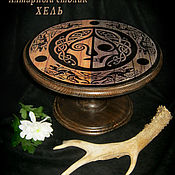 Фен-шуй и эзотерика handmade. Livemaster - original item HEL, wooden altar table, collapsible. Handmade.