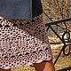 Юбки ручной работы. Ярмарка Мастеров - ручная работа. Купить Ажурная юбка The Flowers Theme. Handmade. Бледно-розовый
