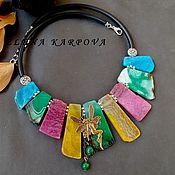 Украшения handmade. Livemaster - original item Necklace . agate. Handmade.