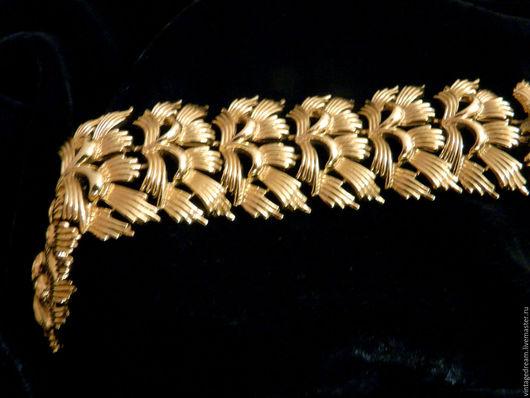 Винтажные украшения. Ярмарка Мастеров - ручная работа. Купить Винтажный браслет CORO PEGASUS. Handmade. Золотой, стильное украшение