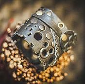 Субкультуры handmade. Livemaster - original item steampunk bracelet black. Handmade.