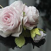 Свадебный салон ручной работы. Ярмарка Мастеров - ручная работа шелковые цветы. Handmade.