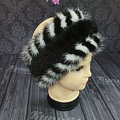 Аксессуары handmade. Livemaster - original item Fur headband made of mink. Handmade.