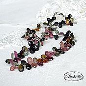 """Ожерелье """"Bordeaux Rouge"""" из турмалина"""