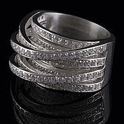 Украшения handmade. Livemaster - original item Ring in sterling silver