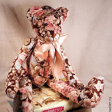 Куклы и игрушки ручной работы. Ярмарка Мастеров - ручная работа Тильда мишка большой (55см). Handmade.