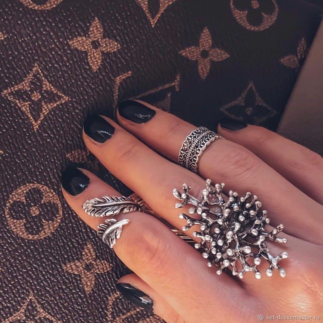 Boho rings original, Rings, Moscow,  Фото №1