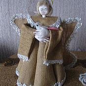 Народная кукла ручной работы. Ярмарка Мастеров - ручная работа Народная кукла: Ангел. Handmade.