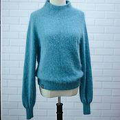 Одежда handmade. Livemaster - original item Sweater made from the wool of mink. Handmade.