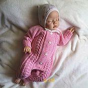 Одежда детская handmade. Livemaster - original item Jumpsuit knitted sissy. Handmade.