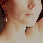 """Украшения ручной работы. Ярмарка Мастеров - ручная работа Серьги """"Храбрая духом"""". Handmade."""