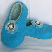Обувь ручной работы. Ярмарка Мастеров - ручная работа тапочки УТРЕННЕЕ НАСТРОЕНИЕ. Handmade.