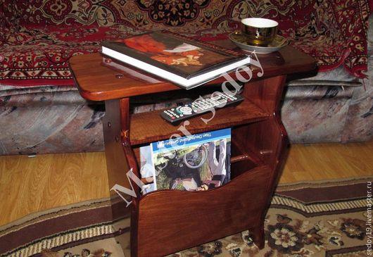 Мебель ручной работы. Ярмарка Мастеров - ручная работа. Купить Столик - газетница. Handmade. Мебель ручной работы