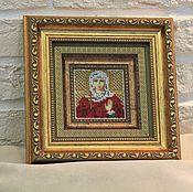 Картины и панно ручной работы. Ярмарка Мастеров - ручная работа Именная икона-миниатюра женская. Handmade.