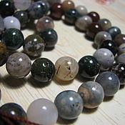 Материалы для творчества handmade. Livemaster - original item Chalcedony 10 mm, smooth ball. Handmade.