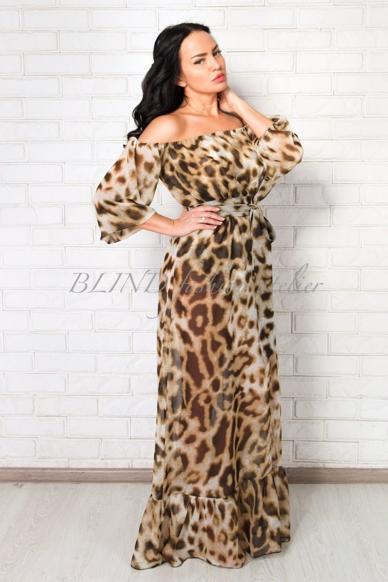 Платья леопардовые москва