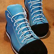 Обувь ручной работы. Ярмарка Мастеров - ручная работа Кеды кожаные ручной работы.. Handmade.