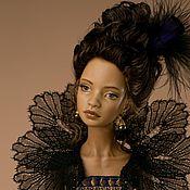 """Шарнирная кукла ручной работы. Ярмарка Мастеров - ручная работа Шарнирная фарфоровая кукла """"Фаворитка"""". Handmade."""