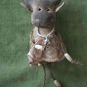 Куклы и игрушки ручной работы. Ярмарка Мастеров - ручная работа чумазик коровушка. Handmade.