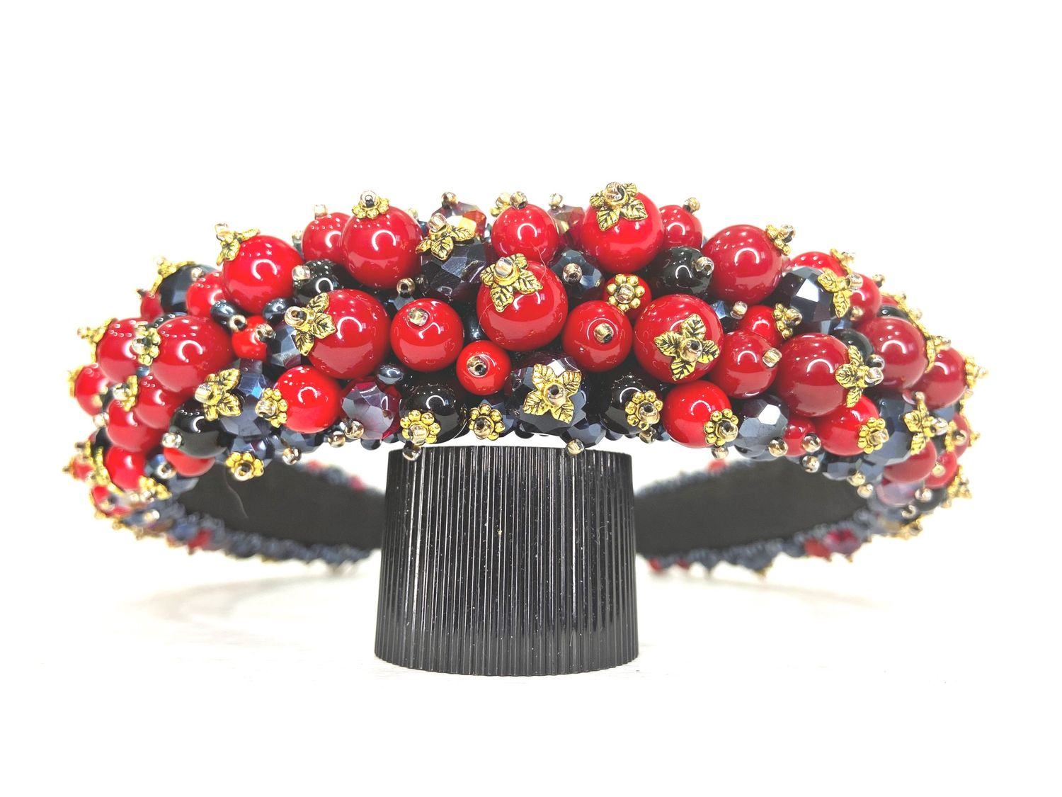 A rim of beads in the style of Dolce, Headband, Moscow,  Фото №1