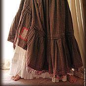 Одежда ручной работы. Ярмарка Мастеров - ручная работа Юбка клетчатая. Handmade.
