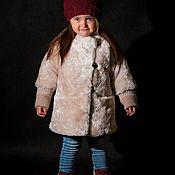 Outer clothing handmade. Livemaster - original item Fur coat-coat. Handmade.
