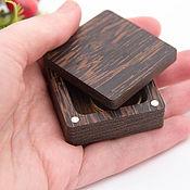 Сувениры и подарки handmade. Livemaster - original item Small box made of wenge wood. Handmade.