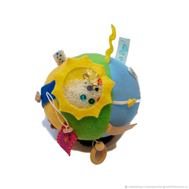 Развивающий мячик, Игрушки-искалки, Бийск,  Фото №1