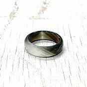 Кольца ручной работы. Ярмарка Мастеров - ручная работа Кольца: Кольцо из агата. Handmade.