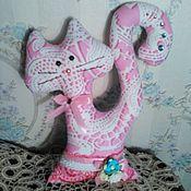 Куклы и игрушки ручной работы. Ярмарка Мастеров - ручная работа Винтажный котик. Handmade.