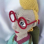 Куклы и игрушки ручной работы. Ярмарка Мастеров - ручная работа Вязаный охотник на привидения. Handmade.
