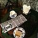 """Кукольный дом ручной работы. Заказать Румбокс """"Французская кофейня"""". Миленькие штучки (chasovschik). Ярмарка Мастеров. Кукольный домик"""