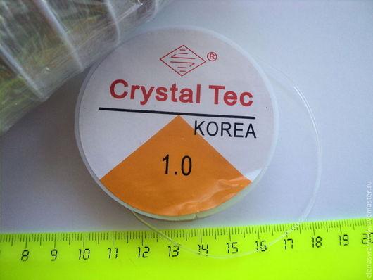 Для украшений ручной работы. Ярмарка Мастеров - ручная работа. Купить Резинка силиконовая 0,7мм, 0,8 мм, 1 мм.. Handmade.