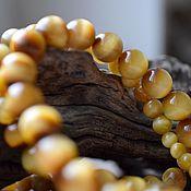 Necklace handmade. Livemaster - original item Tiger eye. beads. Handmade.
