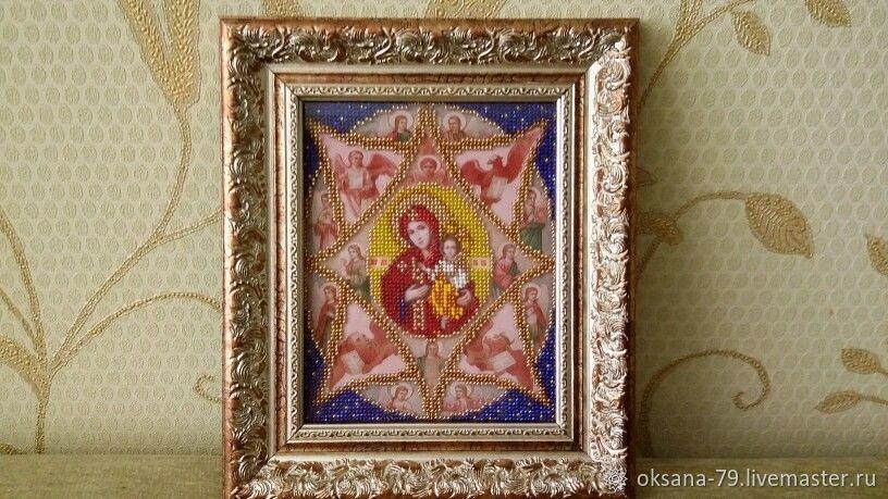 """Икона Божией матери """"Неопалимая купина"""", Иконы, Энгельс, Фото №1"""